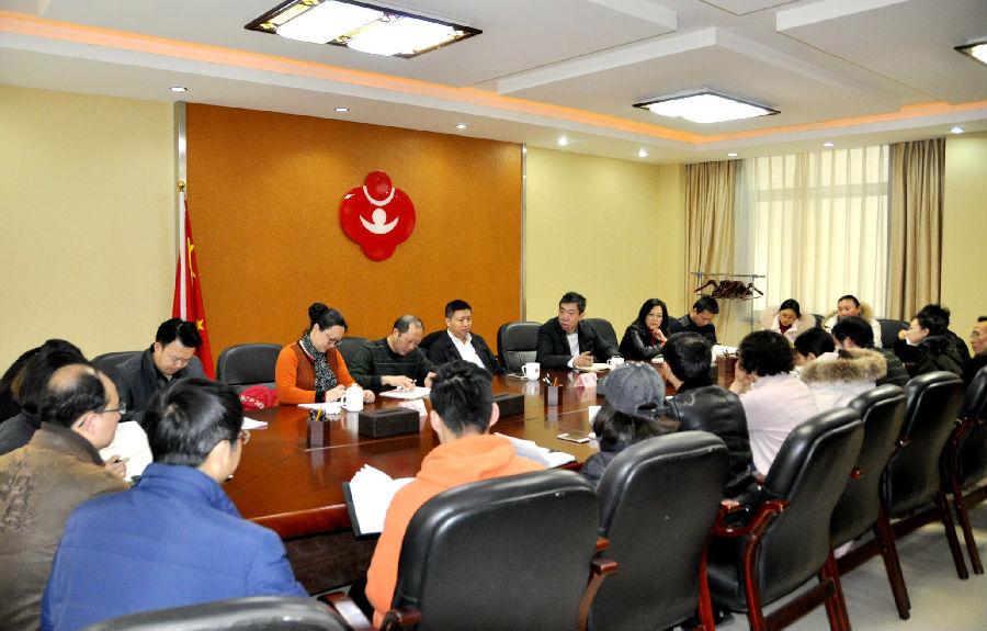 张荣副书记到省关工委办公室召开党员学习会